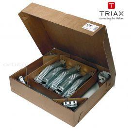 5 x Triax TDS 64 inclusief mastbeugel en LNB-houder
