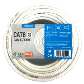 Technetix CAT6-IH-20M CAT6 UTP Installatiekabel 20 mtr. Eca