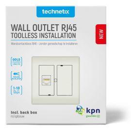 Technetix CL50-RJ45-SHOP RJ45 WCD Einddoos