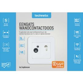 Technetix DIO-01-S SHOP AOP Eengats wcd Ziggo Geschikt