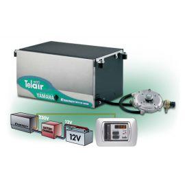 Telair Energy 8012 G werkt op een 4-takt gasmotor