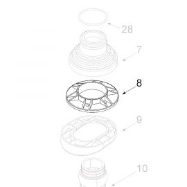 Teleco 11523 spare part Buisdoorvoer ring Voy.65/85