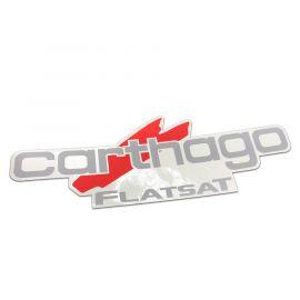 Sticker Teleco FlatSat Carthago (spare part 12337)