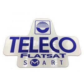 Sticker Teleco FlatSat Easy (spare part 15531)