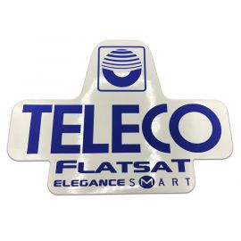 Sticker Teleco FlatSat Elegance Smart (spare part 17106)
