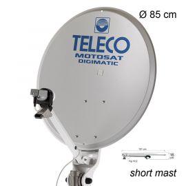 Teleco Motosat Digimatic SM 85cm + DSF90E HD BX, Short Mast