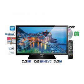 "Teleco TEK 19D TV19"",DVB-S2/T2,DVD,9-32V,HEVC,M7 Fastscan"