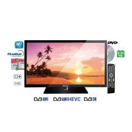"""Teleco TEK 24D TV24"""",DVB-S2/T2,DVD,9-32V,HEVC,M7 Fastcan"""