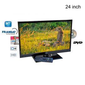 """Teleco TEV24D 24"""" led tv met dvd-speler"""