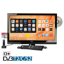 "Teleco TSV20D SMART 20"" 12V FHD LED/TV S2/T2 DVD HEVC"