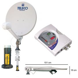 Teleco Voyager Digimatic SM 85cm + DSF90E HD BX, Short mast