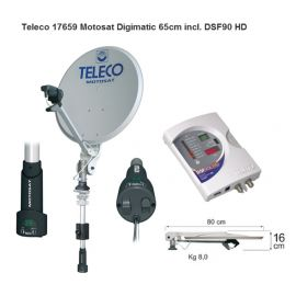 Teleco MotoSat Digimatic 65 cm incl. DSF90E HD