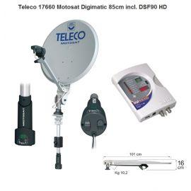 Teleco Motosat Digimatic 85 cm incl. DSF90E HD en mast