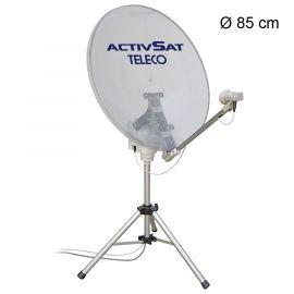 Teleco Activsat 85T (85 cm) met twin lnb