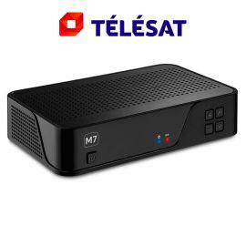M7 MZ101 HD satellietontvanger met geïntegreerde Télésat smartcard