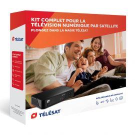 Starterset Télésat incl. schotelantenne, ontvanger etc.