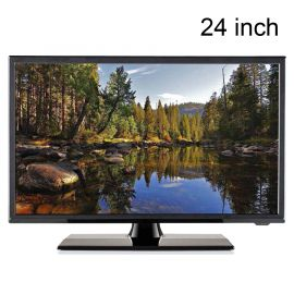 "Travel Vision 24 LED TV 24"" CI S2/T2/C 12V DVD HEVC  H.265"