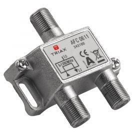 Triax AFC 0611 1-way Tap, 1.2 GHz, Low Distortion 7dB