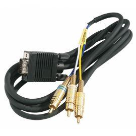 Triax Cable 1,50m 15pol Sub-D/3x RCA