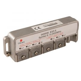 Triax ESS 6 splitter 6-weg