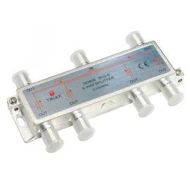 Triax SCS 6 coaxsplitter 6-weg