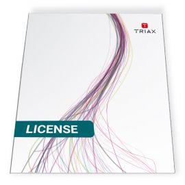 Triax TDH 800 PID management licentie