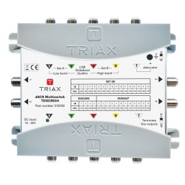 Triax TdSCR504 dSCR multiswitch 5 in 4 uit SkyUK SkyIT