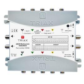 Triax TdSCR504 dSCR multiswitch 5 in 4 uit SkyUK SkyIT