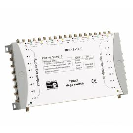 Triax TMS 17x16T multiswitch 17 in 16 uit excl. psu