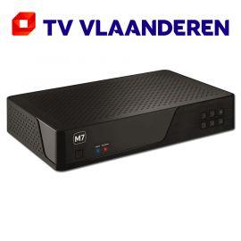 M7 MP201 HD PVR met 500 GB harddisk en geïntegreerde TV Vlaanderen smartcard