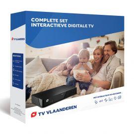 Starterset TV Vlaanderen incl. schotelantenne, HD-recorder etc.
