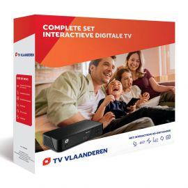 Starterset Canal Digitaal incl. schotelantenne, ontvanger etc.