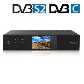 VU+ DUO 4K SE UHD 1x DVB-S2X + C FBC COMBO Twin PVRRdy