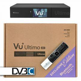 VU+ Ultimo 4K BT UHDTV 1xDVB-C FBC Dual , PVR, Triple tuner