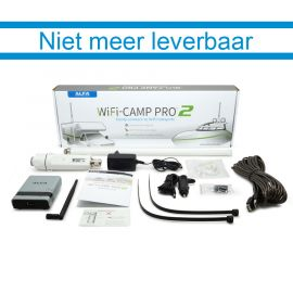 De doos van de WiFi-Camp Pro2 (voorkant)