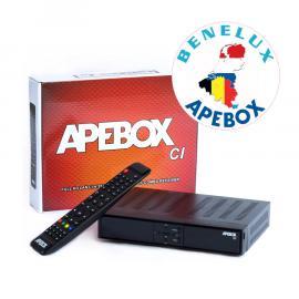 APEBOX CI BNL S2+C/T2 SC/CI USB PVR 12V, M7 / Ziggo