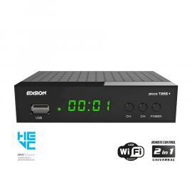 Edision Picco T265+ LED DVB-T2/C H.265 FTA Ziggo/KPN