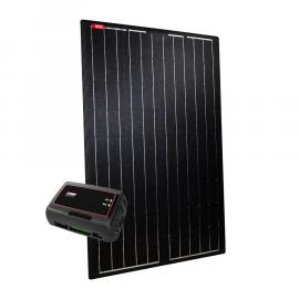 NDS LIGHTSOLAR 105W Semi-Flex Black Zonnep.SET+SC320M Actie