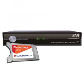 SAB Sky 5100 CISC HD S810 + M7 CDS CAM-701 CI Bundel