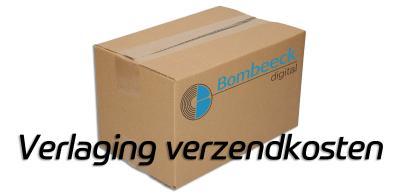 Verzendkosten pakketpost verlaagd!