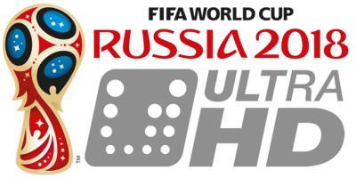 WK 2018 in Ultra HD-kwaliteit