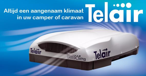 Telair airconditioning voor campers en caravans