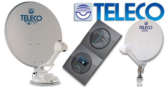 Teleco schotelantennes - volautomatisch & handbediend