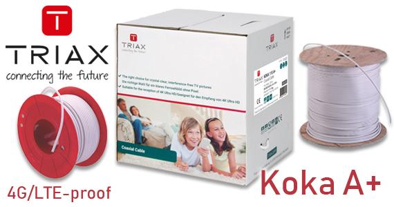 Triax Koka A+ coaxkabel